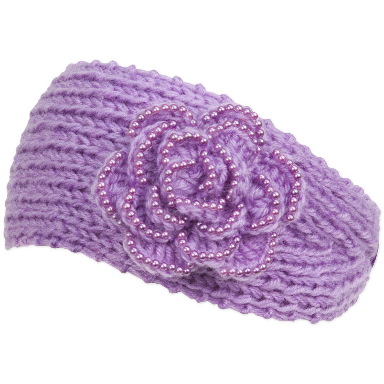 Magid Knit Headwrap, with Rosette