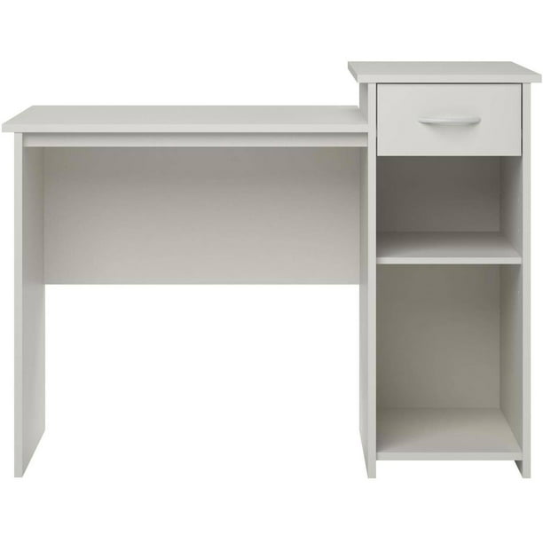 Mainstays Student Desk with Easy-glide Drawer, Multiple Finishes