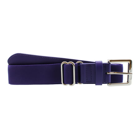 Performance Baseball Softball Belt (Adult, Purple) - Purple,Adult