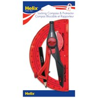 Helix Protractor & Compass Set