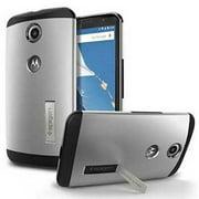 Refurbished Nexus 6 Case Slim Armor AIR CUSHION  Satin Silver for Google Nexus 6 (2014)