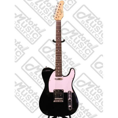 oscar schmidt by washburn single cutaway electric guitar black os lt bk. Black Bedroom Furniture Sets. Home Design Ideas