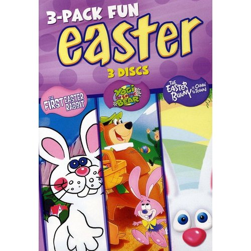 Easter: 3-Pack Fun - The First Easter Rabbit / Yogi the Easter Bear / The Easter Bunny is Comin' To Town (Full Frame)