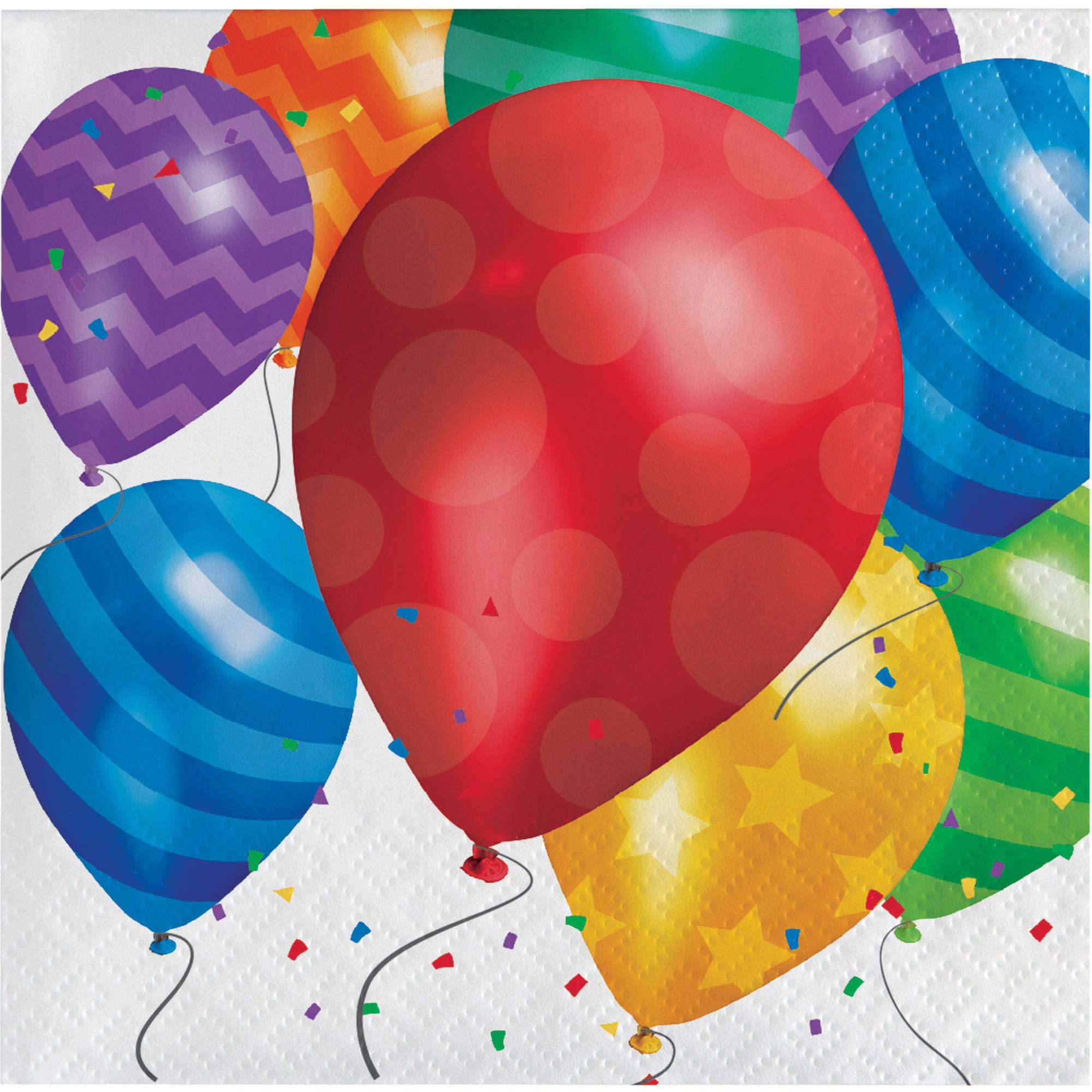Balloon Blast Beverage Napkins