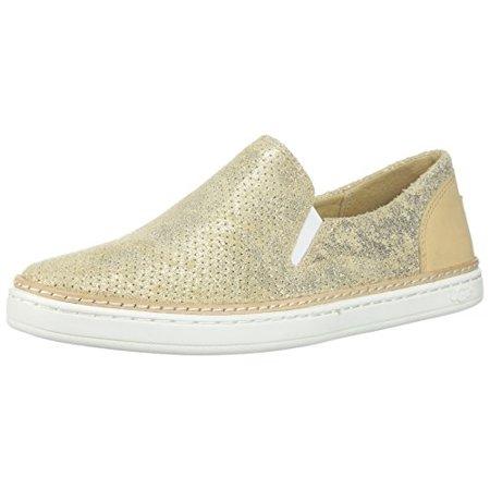 7957f7c7633 UGG - UGG Women's Adley Perf Stardust Sneaker, Gold, 10 M US ...