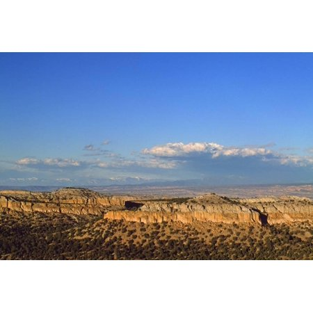 Landscape Route - Landscape from Scenic Route to Los Alamos, New Mexico, USA Print Wall Art By Massimo Borchi