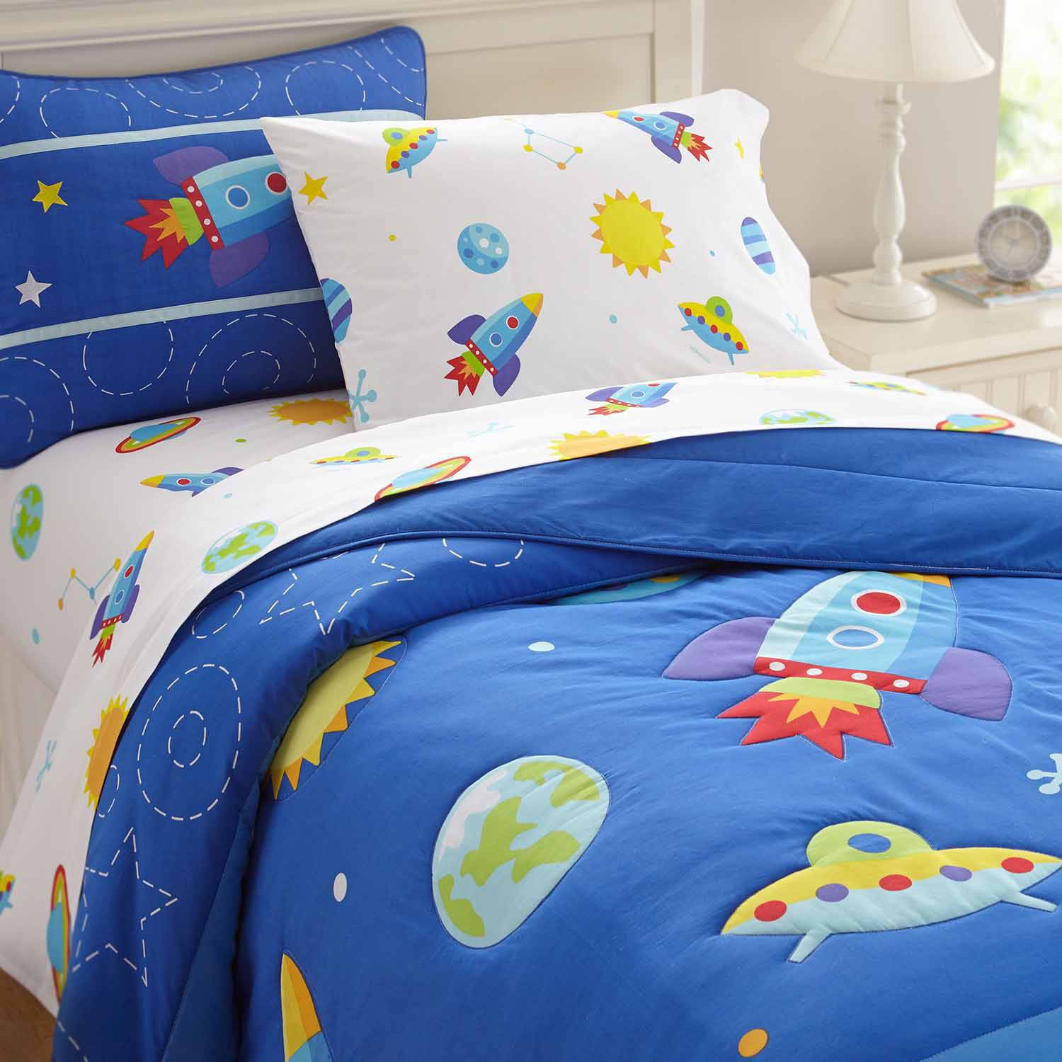 olive kids out of this world bedding comforter set walmartcom - Kids Full Sheets