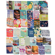 Paper Craft (80 Count) Assorted Variety Boxed All Occasion Greeting Cards With Envelopes