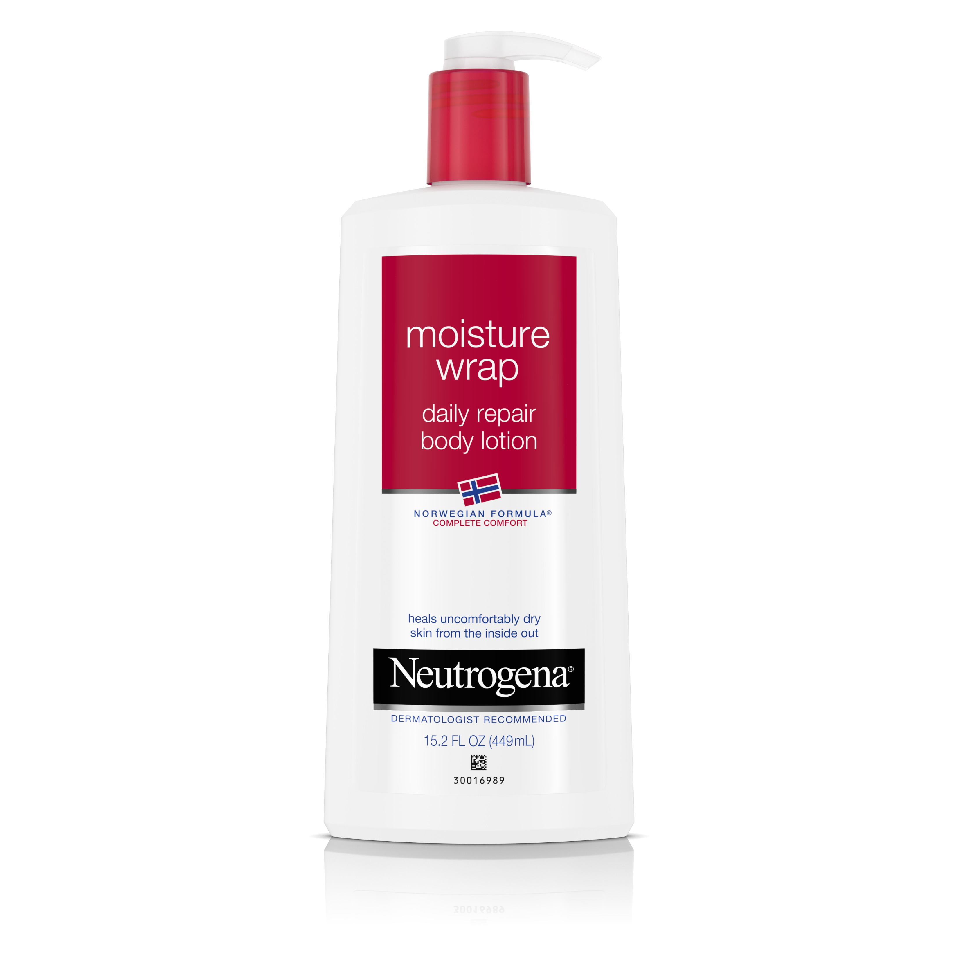 Neutrogena Norwegian Formula Moisture Wrap Daily Repair Body Lotion, 15.2 Oz