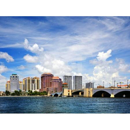 West Palm Beach, Florida, Usa. Print Wall Art By SeanPavonePhoto ()