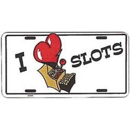 I Love Slots License Plate - image 1 de 2