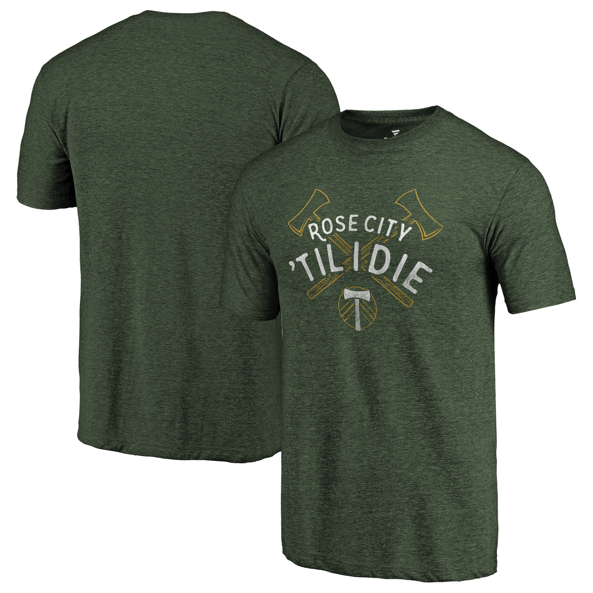 Portland Timbers Fanatics Branded Hometown Collection Tri-Blend T-Shirt - Green