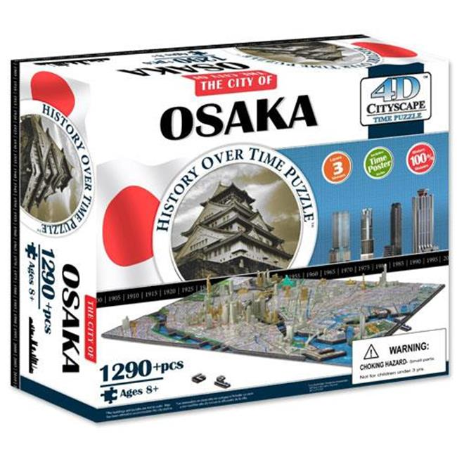 4d Cityscape TCYS-10 4D Osaka, Japan Cityscape Time Puzzle