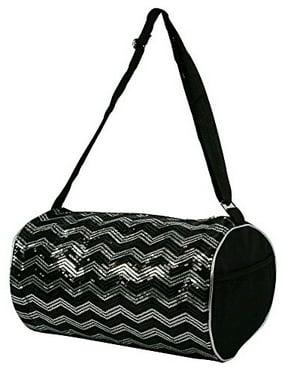 ab82fdceb588 Free shipping. Product Image 1 Perfect Choice Kid s Girls Dance Chevron  Wave Sequin Duffle Bag Gymnastics Cheer (Black)