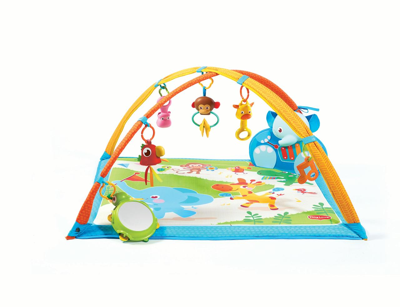 Tiny Love Gymini My Musical Friends Activity Gym Play Mat, Multiple Colors by Tiny Love