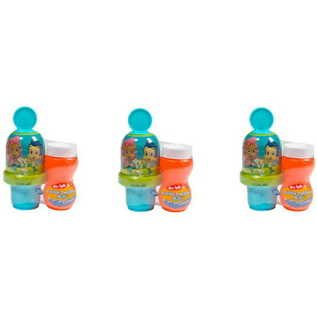 Little Kids Bubble Guppies Mini Bubble Tumbler, 3 Pack