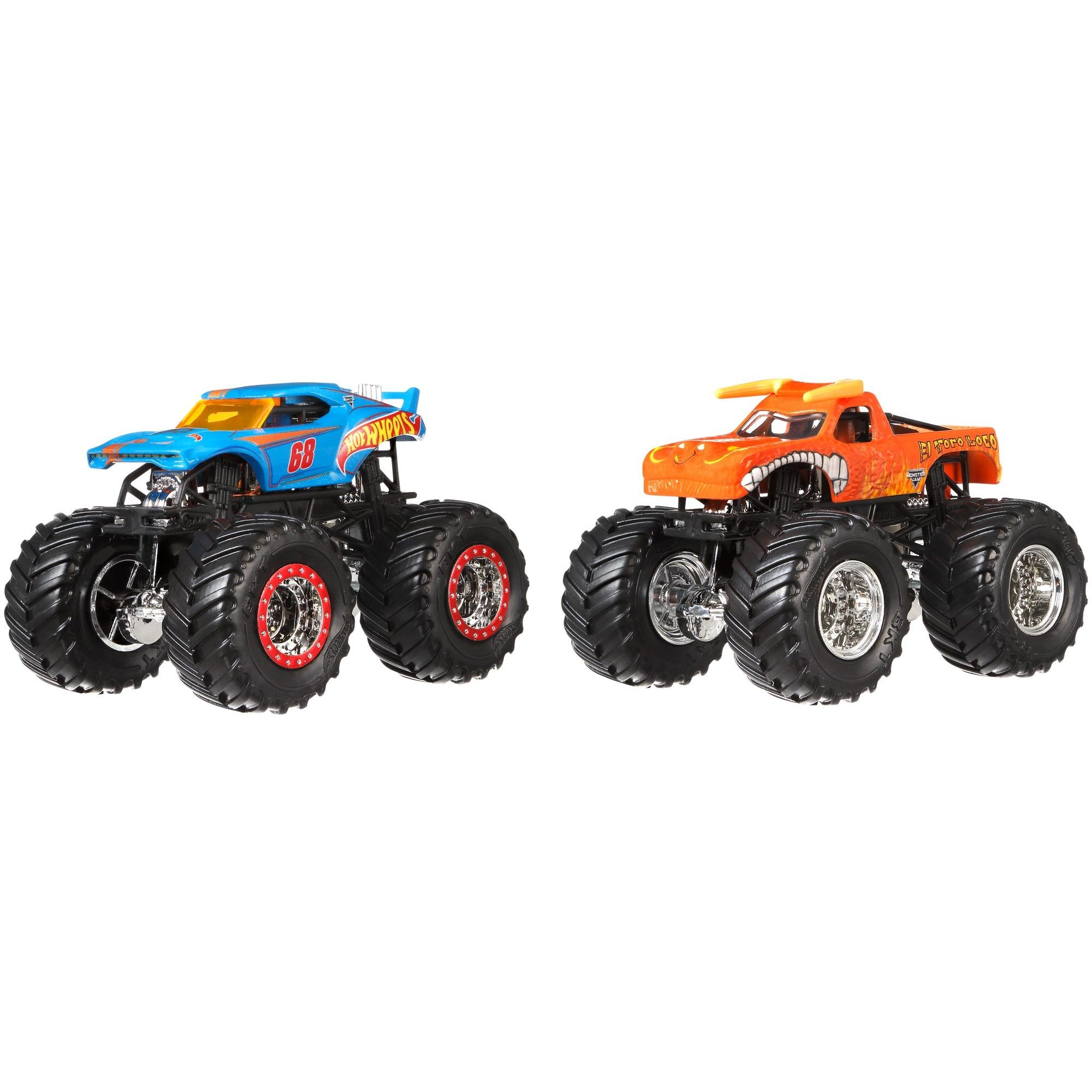 Hot Wheels Monster Jam Demolition Doubles 2-Pack (Styles May Vary) by MATTEL BANGKOK LIMITED