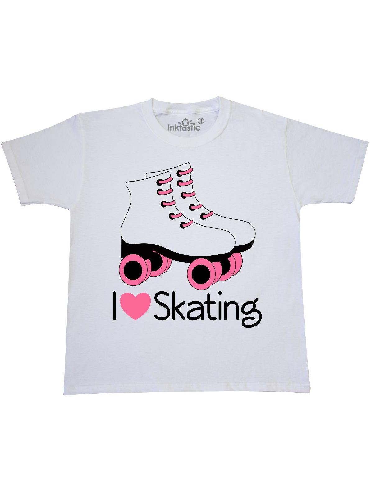 Girls I Heart Skating Youth T-Shirt