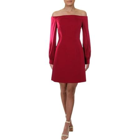 JILL Jill Stuart Womens Off-The-Shoulder A-Line Party Dress Wedding Womens Light