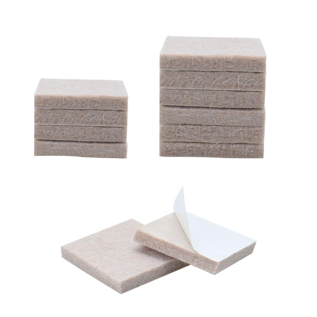 "Furniture Pads Square 1 5/8"" Self-stick for Furniture Floor Protector 12pcs - image 7 de 7"