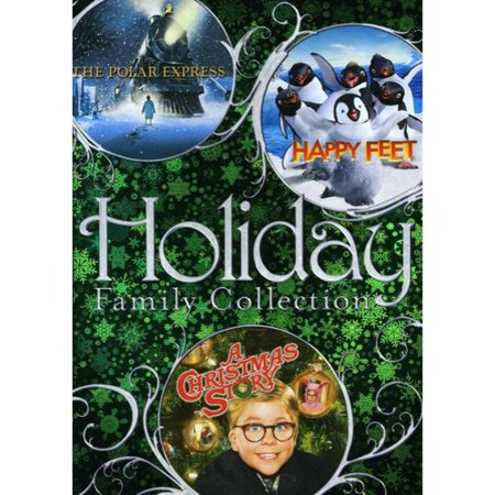 Holiday Family Collection  The Polar Express   Happy Feet   A Christmas Story