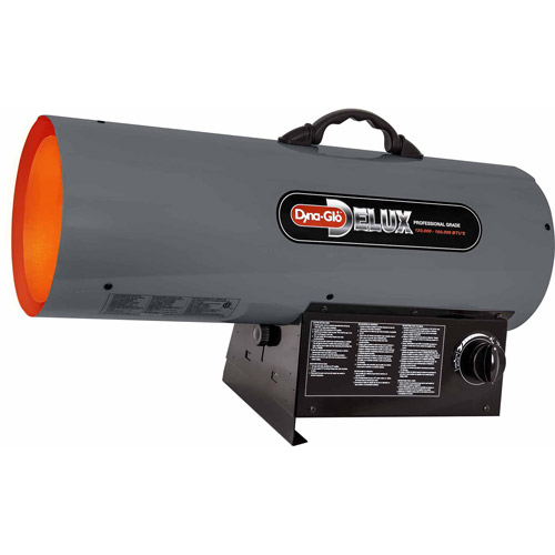 Dyna-Glo Delux 120K to 150K BTU Liquid Propane Portable Forced Air Heater