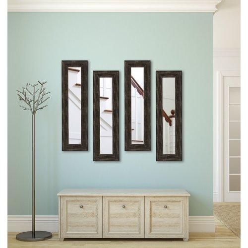 Brayden Studio Panel Accent Mirror (Set of 4)
