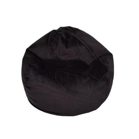 Fantastic Ace Bayou Large Textured Velvet Bean Bag Available In Multiple Colors Creativecarmelina Interior Chair Design Creativecarmelinacom