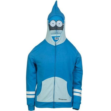 Regular Show - Mordaci Eyes Costume Zip Hoodie - Regular Show Halloween Iv