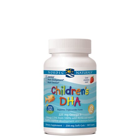 Nordic Naturals Children's DHA Softgels, Strawberry, 360 Ct