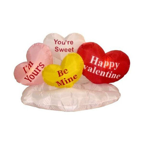 BZB Goods Valentine's Day Inflatable Love Hearts on Cloud Decoration