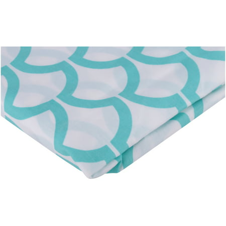 Mini Sheet (TL Care® 100% Cotton Percale Fitted Mini Crib Sheet)