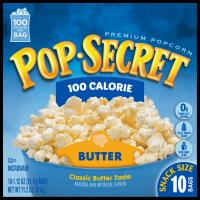 Pop Secret 100 Calorie Butter Microwave Popcorn, 1.12 Oz., 10 Count