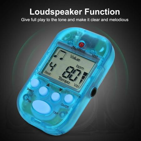 Yosoo Mini Digital Beat Tap M50 Tempo Metronome Clip Musical Instruments , Tempo Metronome, Beat Tap