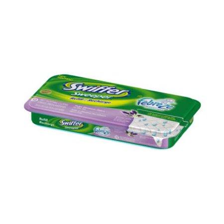 Procter & Gamble 15845 12-Count Febreze Lavender & Vanilla Wet Cloth Refills