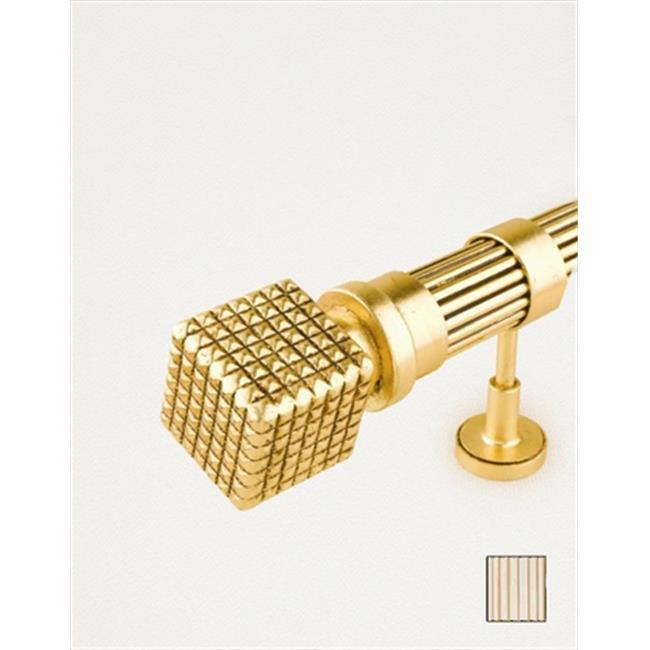 WinarT 8. 1142. 30. 31. 360 Palas 1142 Curtain Rod Set - 1. 25 inch - White-Biege - 141 inch