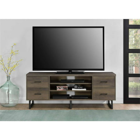 Ameriwood Home Candon TV Stand with Bins for TVs up to 60