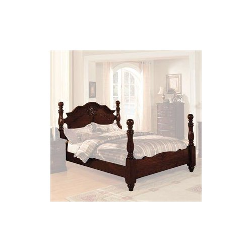 Furniture of America CM7571 Tuscan Panel Poster Bed by Furniture of America