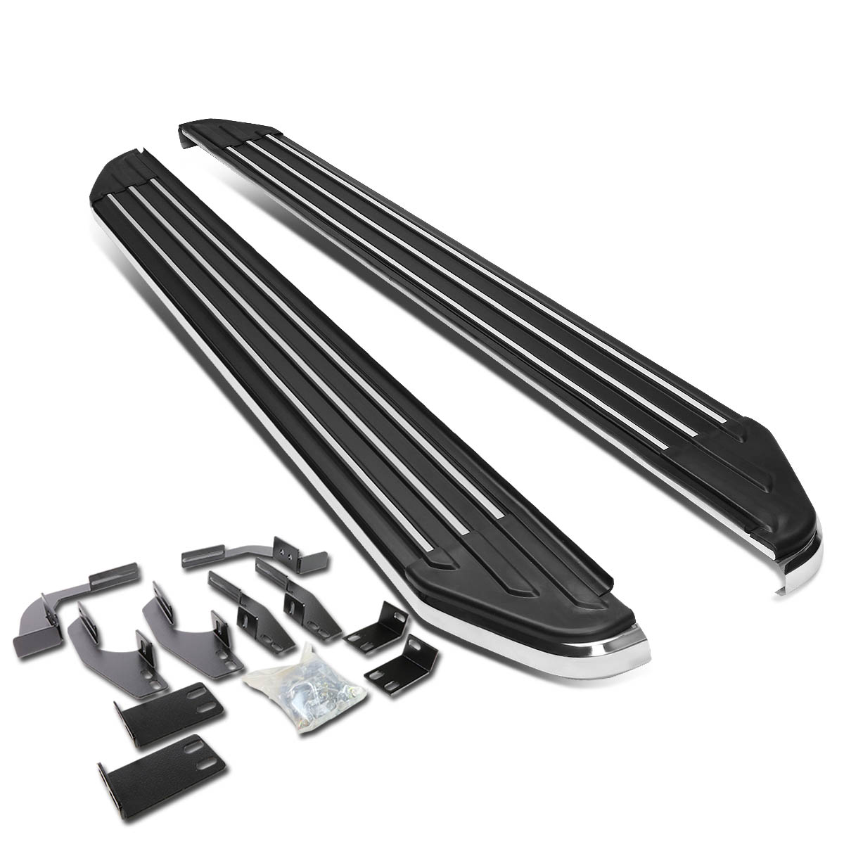 """For 11-16 Sienna XL30 Pair of 6"""" Aluminum Side Step Nerf Bar Running Board 12 13 14 15"""