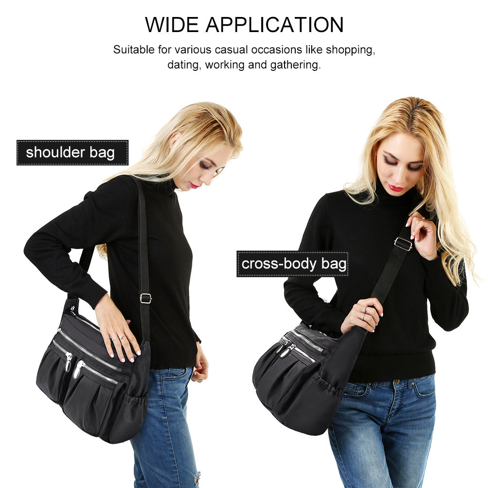 OVIIVO Women Handbag Shoulder Bag Bucket Bag Simple Big Baotan Shoulder Messenger Bag Lady Handbag Outdoor Travle Crossody Bag