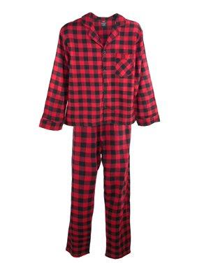 e26f849e01 Product Image Men s Big and Tall Cotton Flannel Pajama Set