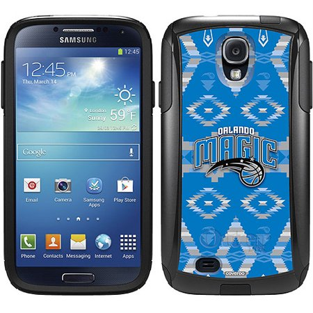 Orlando Magic Tribal Print Design on OtterBox Commuter Series Case for Samsung Galaxy S4 by