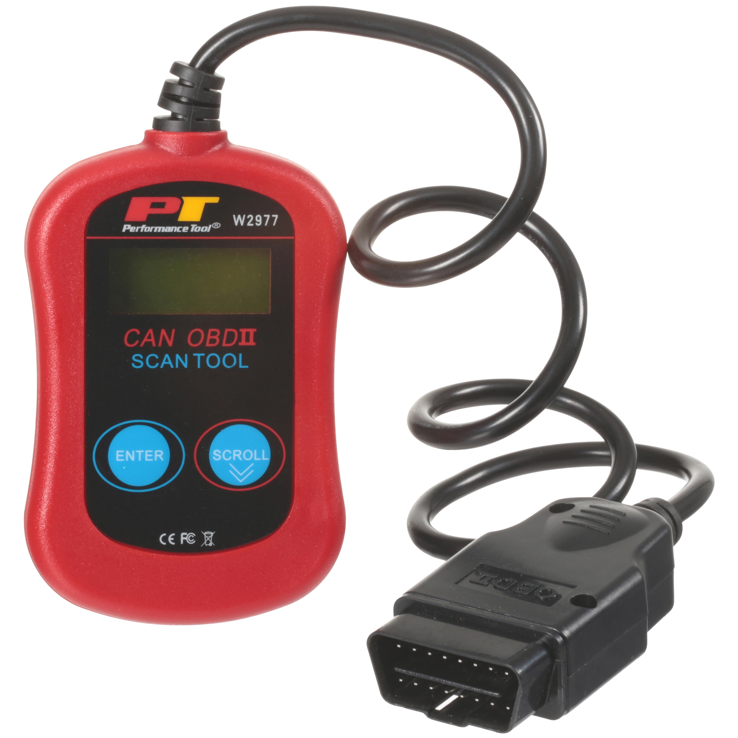 Performance Tool® CAN OBDII Diagnostic Scan Tool