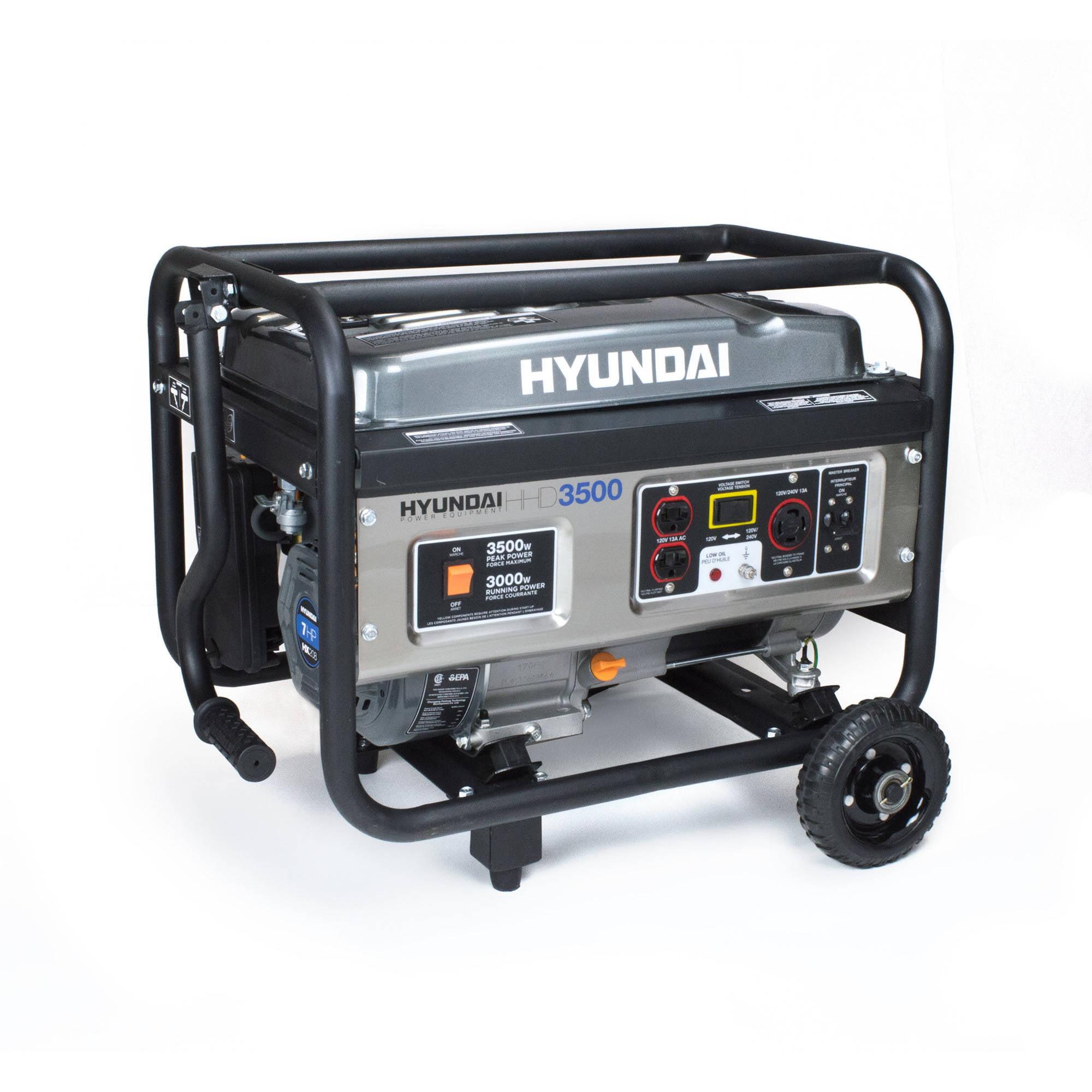 Hyundai HHD3500 Generator