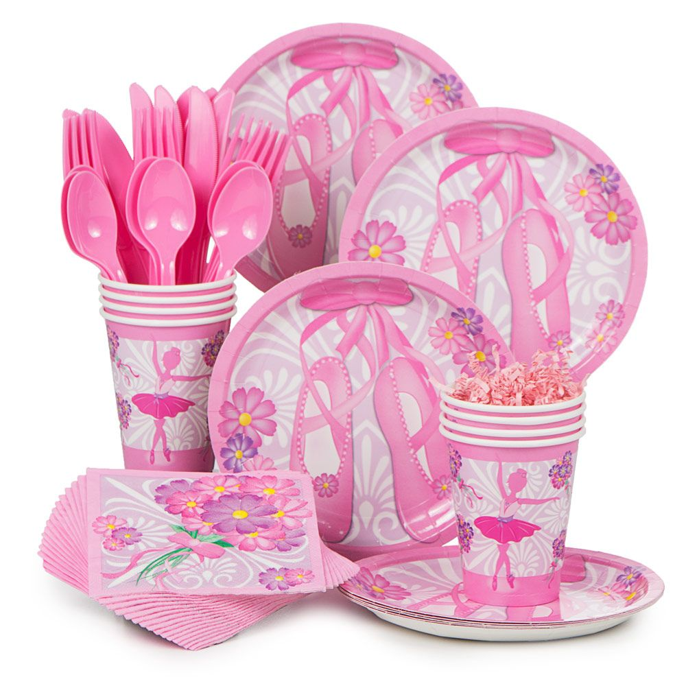 Ballerina Standard Kit (Serves 8) - Party Supplies