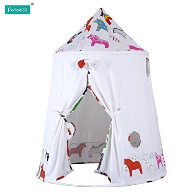 pericross cotton canvas mongolian yurt tent kids play tent outdoor indoor gamehouse