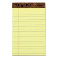 TOPS The Legal Pad Writing Pads, Jr. Legal Rule, 50 Sheets, Can, (7500)