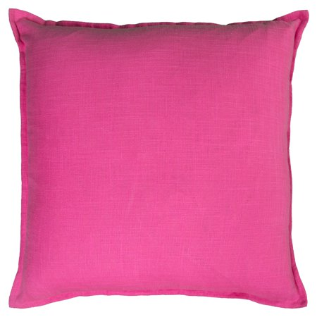Rizzy Home Solid Cotton Decorative Throw Pillow, 20
