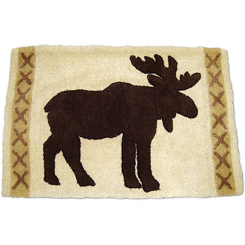 Silhouette Lodge Bath Rug