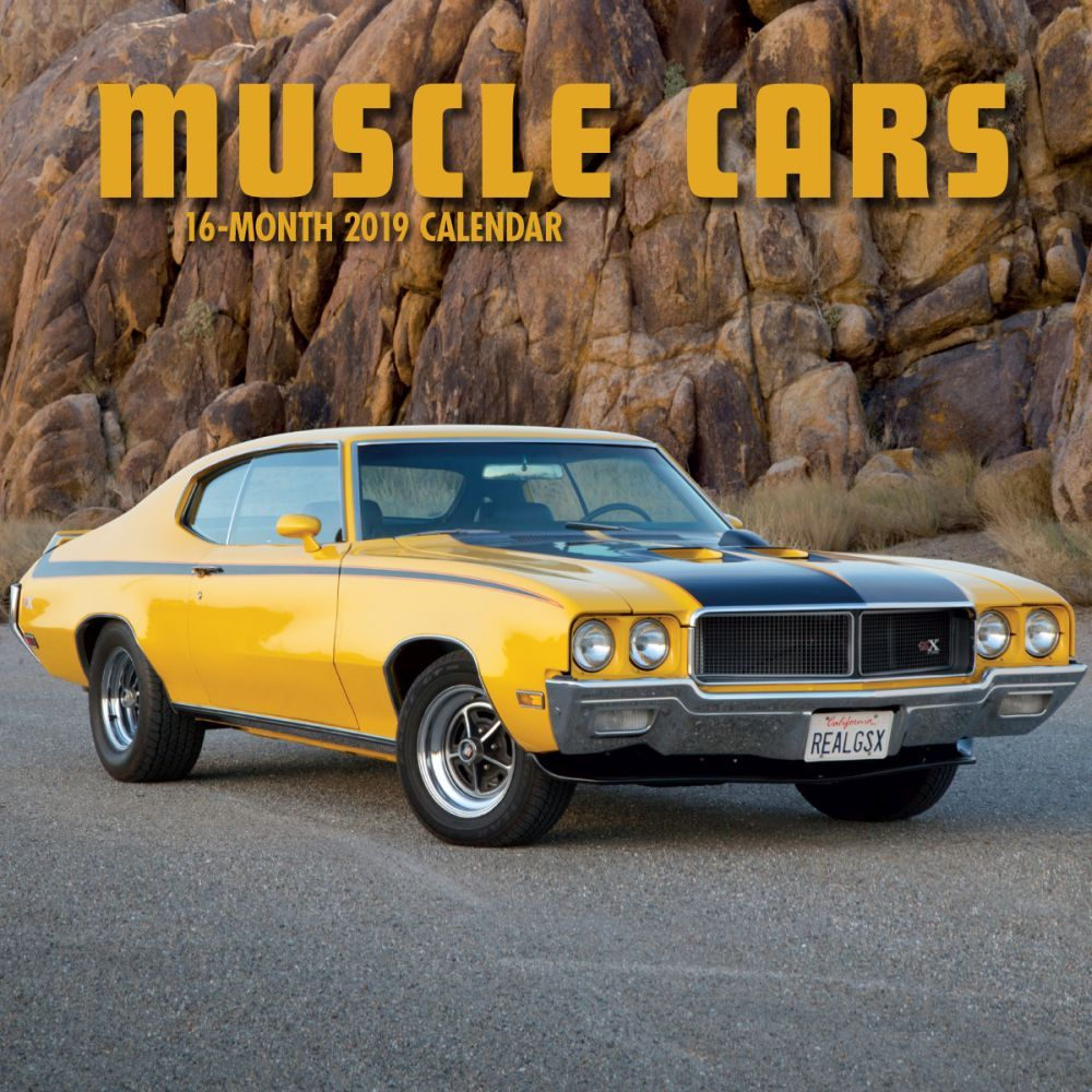 2019 Cars Muscle 2019 Mini Wall Calendar, by Avalanche Publishing by Avalanche Publishing